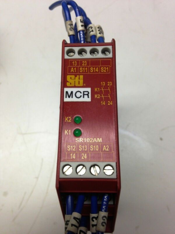 STI SR102AM SR102AM01 Safety Relay Module
