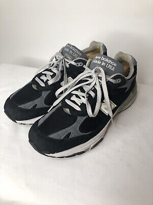 New Balance 993 Made In USA MR993BK Men's Size 10.5 Running Shoes