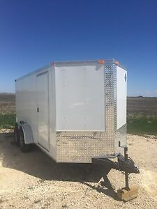 2017 Enclosed 14' Cargo Trailer