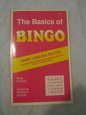 Avery Cardoza   The Basics Of Bingo  1991 Paperback  1St Print  016 9