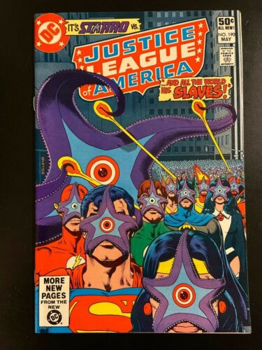 DC Justice League of America #190, 1981!