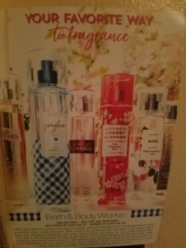 Bath And Body Works Coupon 20 Off Your Entire Purchase Exp Aug 8 - $15.00