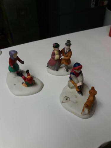 lemax christmas village figurines Lot Of 38