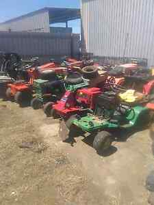 Second hand ride on mower chainsaw and brush cutter parts Morwell Latrobe Valley Preview