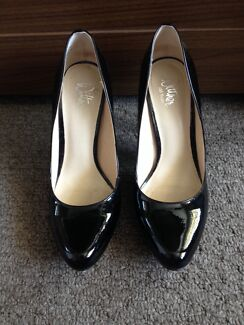 Patent Black Wittner Heels Peppermint Grove Cottesloe Area Preview