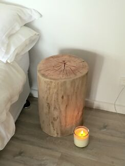 Glamorous Side Table   Tree Stump