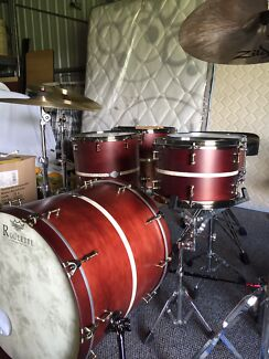Roulette Custom Drums 4pc shells.