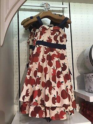 Disney The Dress Shop Girls Youth Kids Snow White Apple Dress Size L - Kids Dress Shopping