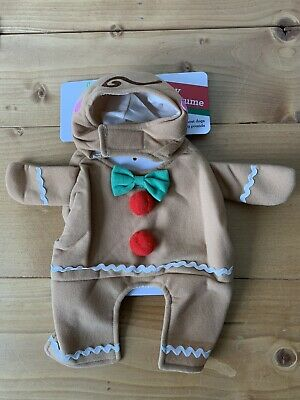 Dog Costume For Men (Pet Shoppe Gingerbread Man Dog Costume XS Small 12 19 pounds Christmas)