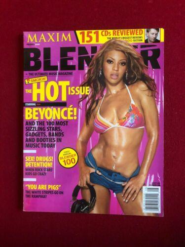 "2003, Beyonce, ""BLENDER"" Magazine (No Label) Scarce / Vintage"
