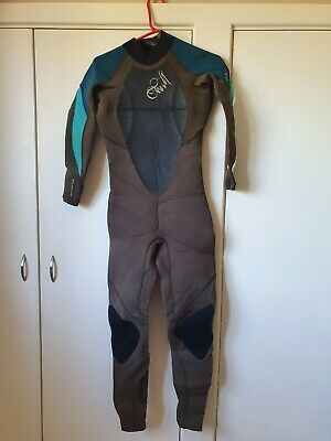 O'neill Dlux Womens Winter Wetsuit Uk Size 10T 5:3 5/3