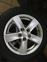2 Mitsubishi Lancer YOKOHAMA Tire 5 Stud For $200 Darch Wanneroo Area Preview