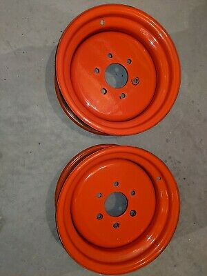 Kubota Front Wheel - 1 Pair Of 12.5 X 6 Wheels- Will Fit A B7200 Tractor