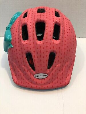 Schwinn Girls Bike Helmet, Little Kid, Light Pink/Green