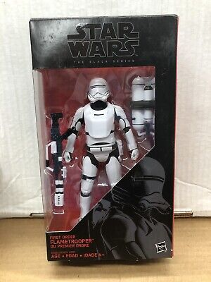 First Order Flametrooper Star Wars Black Series #16 Action Figure NEW!!