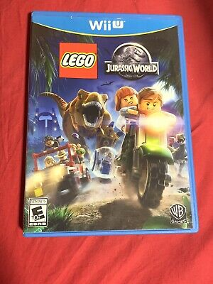 LEGO Jurassic World (Nintendo Wii U, 2015) Complete!!