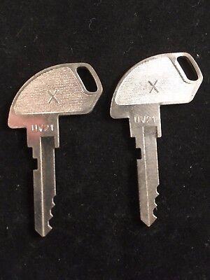 Tec Cash Register X Key Uv21 Set Of 2