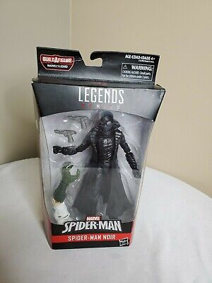 Marvel Legends Spider-Man Noir Mint In Box Factory Sealed Hasbro w/ Lizard baf
