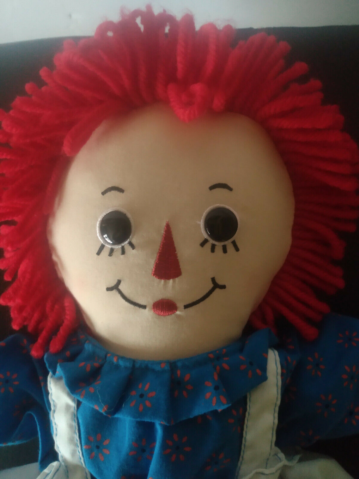 Raggedy Ann Doll With Name On Apron New  - $14.99