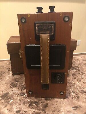 Vintage Megger Ground Resistance Tester James Biddle - Original Case 30000 Ohms