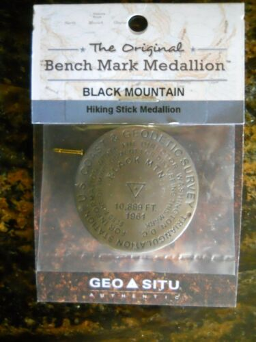 PHILMONT SCOUT RANCH BLACK MOUNTAIN HIKING STAFF MEDALLION (NEW IN PACKAGE)