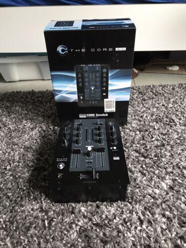 DAP Audio CORE Scratch 2-Kanal DJ Mixer Bluetooth streaming 60mm Fader+OVP