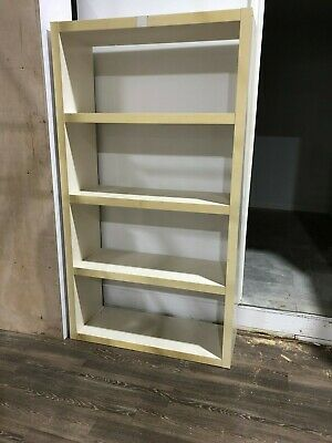 Display Case Retail Store Wooden Shelves