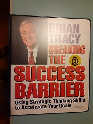 BRIAN TRACY Breaking The Success Barrier 6 CD Set UNABRIDGED