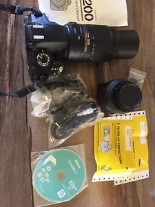 Nikon D-3200 package + extras