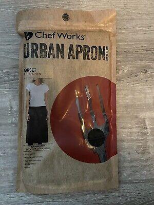 Chef Works Urban Apron Pewter Bistro Apron