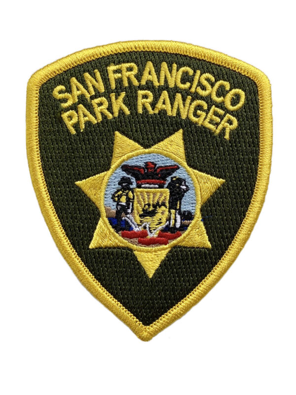 San Francisco Park Ranger Hat Patch California Sheriff Police New