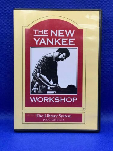 The New Yankee Workshop - Norm Abram - The Library System #1713 (DVD, 2005)