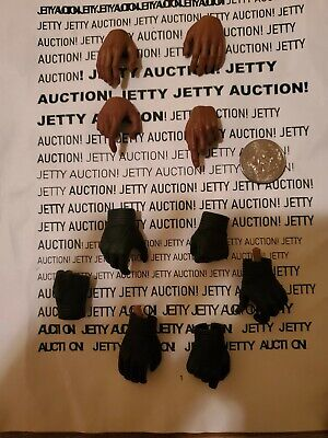 1:6 scale hot toys mms 169 Avengers Nick fury hands gloves parts accessory lot