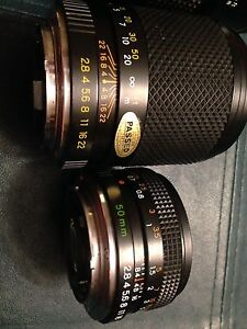 Camera lenses X 3 , together or separate!  Kingston Kingston Area image 3