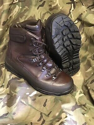 Genuine British Issue Brown cold Wet weather Iturri Boots!hardly worn!Size 9 M!