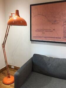Atlas Floor Lamp - Orange