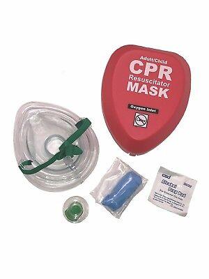 Wnl Adult Child Cpr Rescue Pocket Mask With Belt Clip
