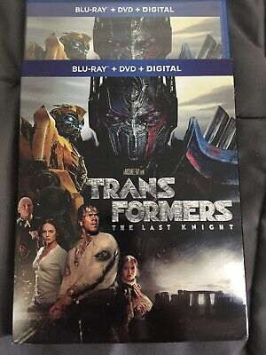 Transformers: The Last Knight [New Blu-ray] With DVD Walhberg Optimus