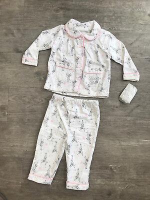 Tinkerbell Mädchen Pyjamas (Girls Baby Toddler Primark Disney Tinker Bell Soft Pyjamas 6 - 12 Months)