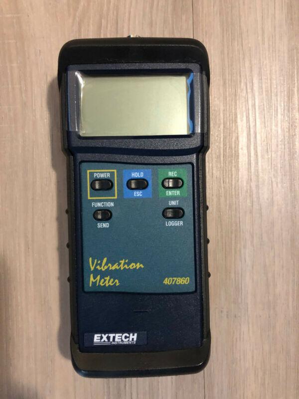 EXTECH 407860 Digital Vibration Meter Kit - BRAND NEW IN CASE