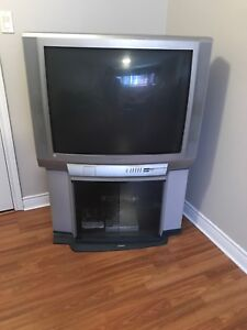 Tv with stand. Good condition works great.