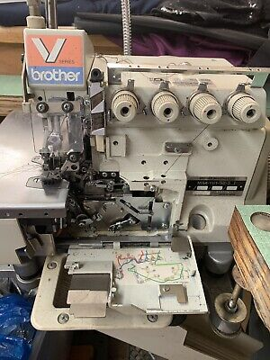 Brother Ma4-v61-98-5 Needle 5-thread Overlock Serger Industrial Sewing Machine