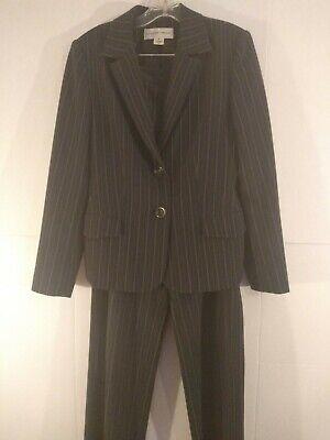 Jones New York Women's Pinstripe Pant Suit Size 8