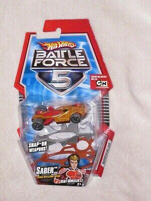 Hot Wheels Battle Force 5 Saber copper die cast car
