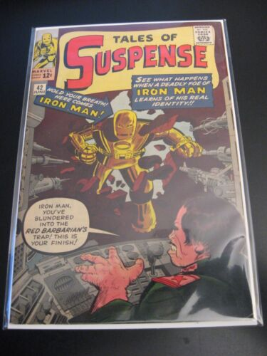 TALES OF SUSPENSE #42 **Wow—4th App. of IRON MAN!** (VF) or (VF/VF+) *Nice!!*