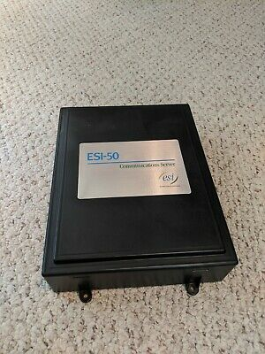 Esi-50 Communication Server With Power Cord And Cable Module
