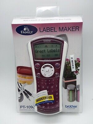 Brother Pt-1090 Label Thermal Printer New In Packaging