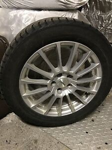 205/55/16 Nord Frost winter tires on mags (full set)