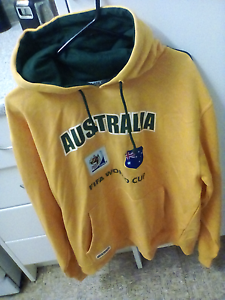 Socceroos Jumper XXL South Africa 2010 Elizabeth Vale Playford Area Preview