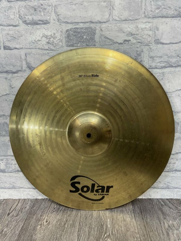 """Solar by Sabian 20""""/51cm Drum Ride Cymbal Hardware / Accessories"""